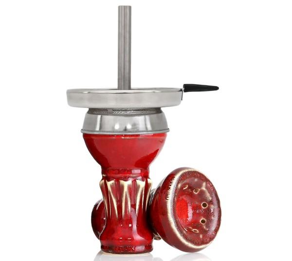 Werkbund Hookah Egoist Red Lava Kaminkopf Set