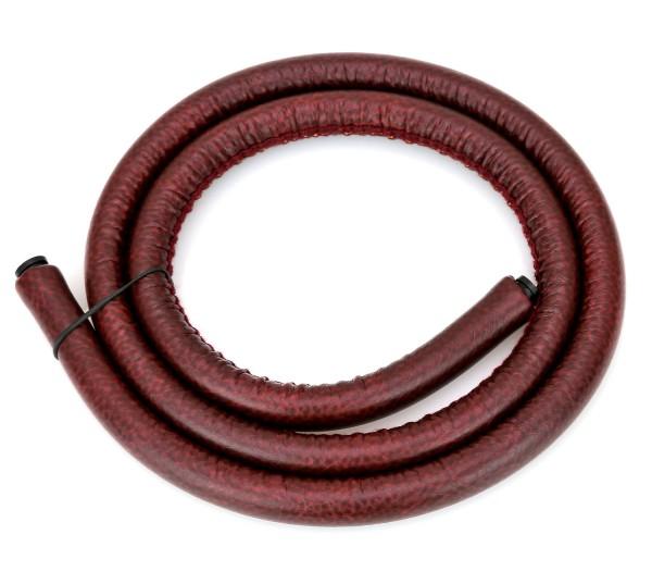 Werkbund Hookah Leather Hose Mahagon