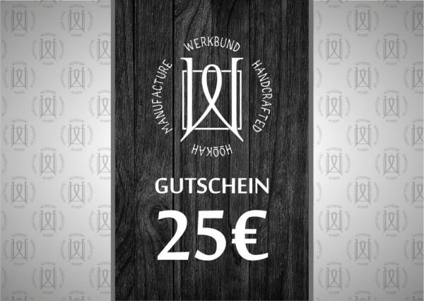 Werkbund Hookah Gutschein 25€