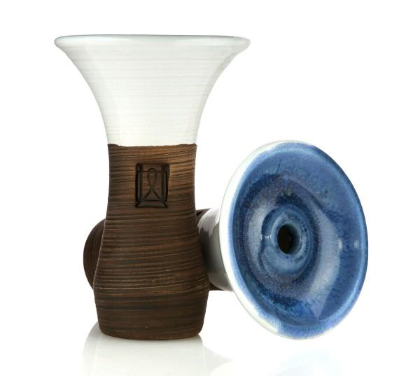 Werkbund Hookah Evo Deep White Blue Phunnel